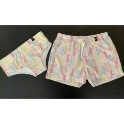 Short + Sunga Abacaxi Colors