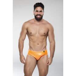 Sunga Brief Laranja Neon (resinada)